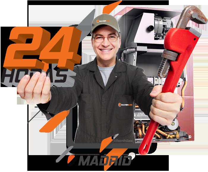 reparación de calderas de gas en Madrid