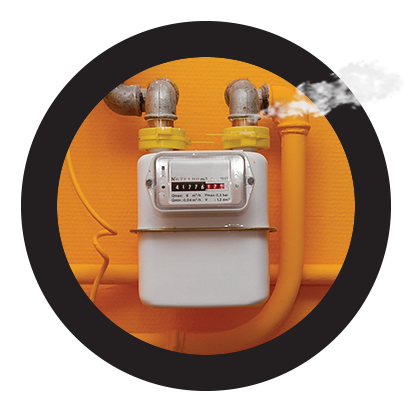 reparación urgente de fugas en instalaciones de gas natural en Toledo