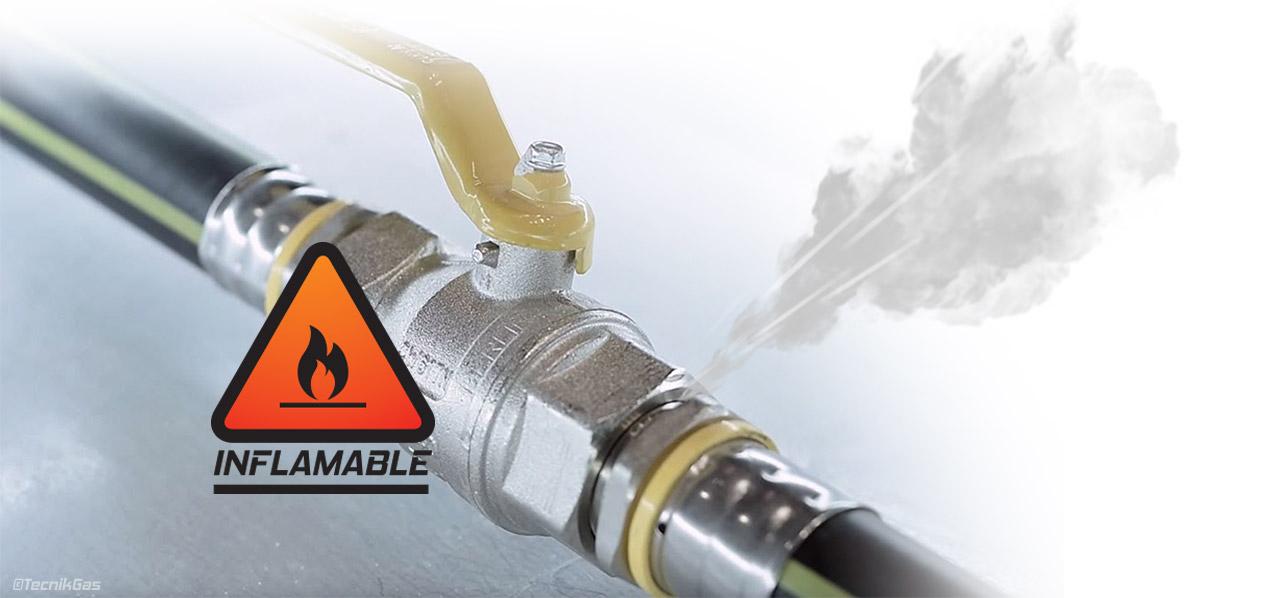 reparación de urgencias de fuga de gas natural