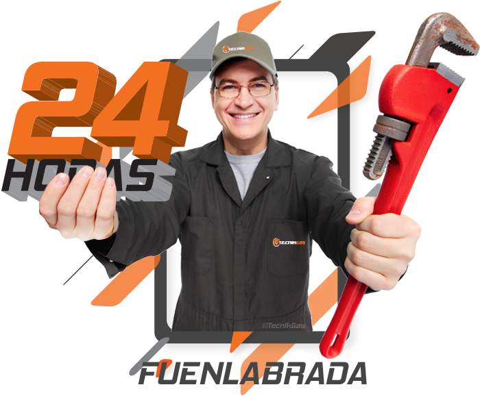 Urgencia de gas natural en Fuenlabrada