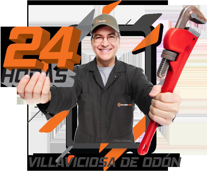 Urgencia de gas natural en Villaviciosa de Odón