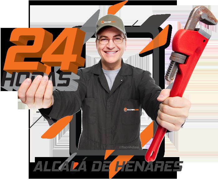 urgencia de gas natural en Alcalá de Henares