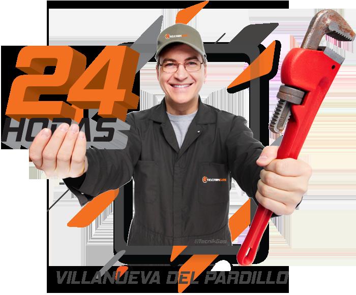 Urgencia de gas natural en Villanueva del Pardillo
