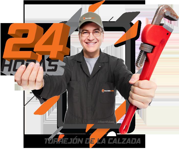 Urgencia de gas natural en Torrejón de la Calzada